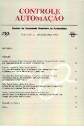 páginas iniciais - SBA