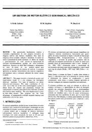 Um Sistema de Motor Elétrico Sem Mancal Mecânico - SBA