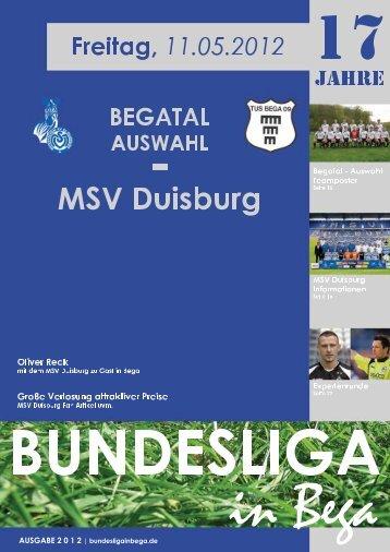 Eckige ins Runde. Landtagswahl am 13. Mai ... - Bundesliga in Bega