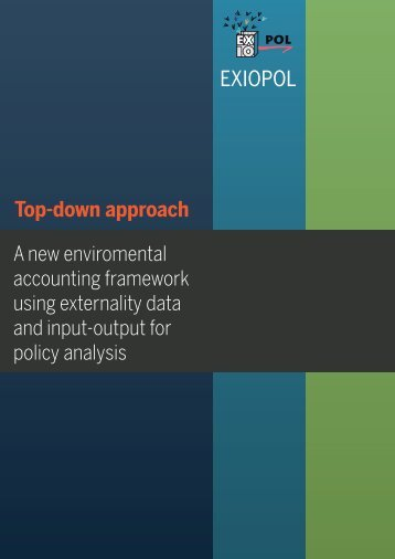 EXIOPOL brief: Top down approach [500kb] - Feem-project.net