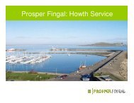 Prosper Fingal: Howth Service