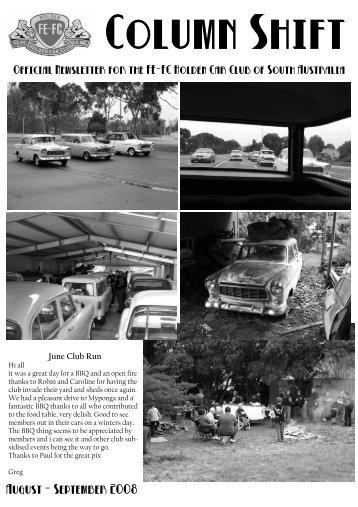 August - September 2008 - FE-FC Holden Car Clubs of Australia
