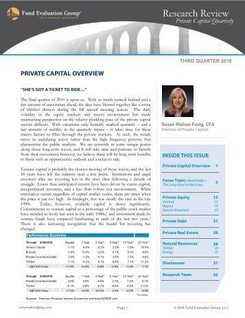 download pdf - Fund Evaluation Group, LLC