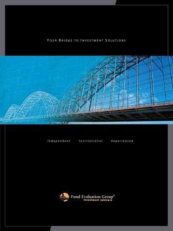 FEG Managed Portfolios Institutional Brochure - Fund Evaluation ...