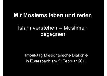 Mit Moslems reden - Bund Freier evangelischer Gemeinden FeG