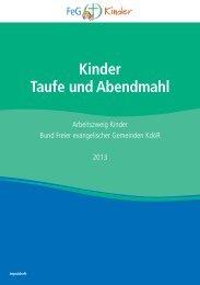 Kinder Taufe und Abendmahl - Bund Freier evangelischer ...