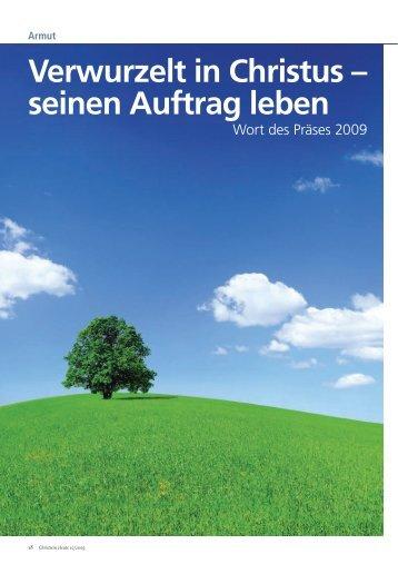 Das Wort des Präses 2009 - Bund Freier evangelischer Gemeinden ...