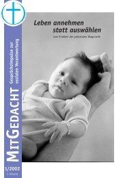 3) Pränatale Diagnostik (2002) - Bund Freier evangelischer ...
