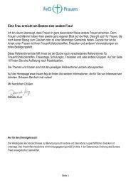 Referentinnenliste - Bund Freier evangelischer Gemeinden FeG