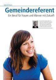 Ein Beruf für Frauen und Männer mit Zukunft - Bund Freier ...