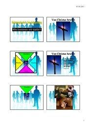 Seminar Bekehrungsbasierte Gemeindegründung - Handout