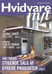 Elektronisk version af HVIDVARE-NYT nr. 3 - juni 2013 - Feha