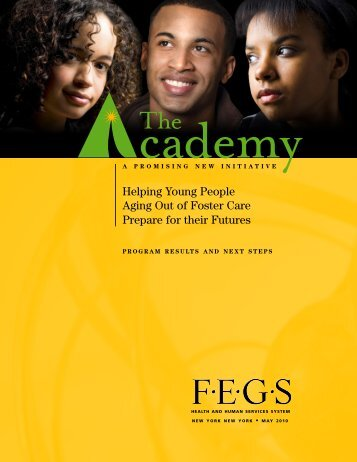 FEGS - The Academy - Report 2010