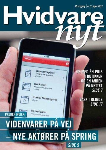 Elektronisk version af HVIDVARE-NYT nr. 2 - april 2012 - Feha