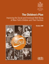 The Children's Plan - Council on Children and Families - New York ...