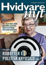 Elektronisk version af HVIDVARE-NYT nr. 1 - februar 2012 - Feha