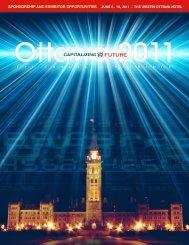 Sponsorship & Exhibitor Brochure - FEI Canada