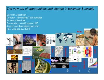 The new era of opportunities and change in business ... - FEI Canada
