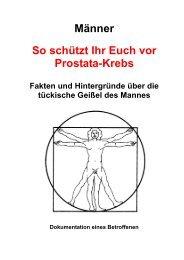Prostatakrebs - Broschüre mit Eigenwerbung auf U4 ... - Feierabend