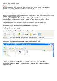 Firefox ohne Browser laden Vorab: Wenn kein Browser ... - Feierabend