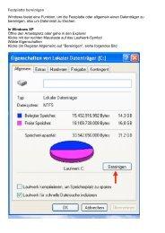 Festplatte bereinigen Windows bietet eine Funktion ... - Feierabend