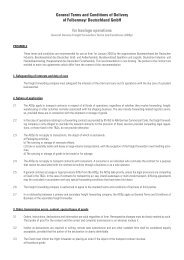 General Terms and Conditions of Delivery of Felbermayr ...