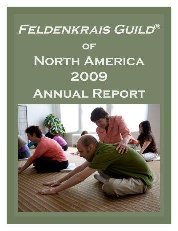 Finance Report 2009 - Feldenkrais