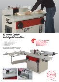 die riCHtige entSCHeidung - FELDER Holzbearbeitungsmaschinen ... - Seite 6