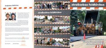 straßenbau feldkirchen - bei der Stadtgemeinde Feldkirchen in ...