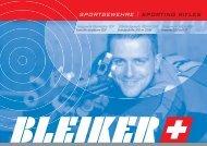 SPORTGEWEHRE | SPORTING RIFLES - Bleiker