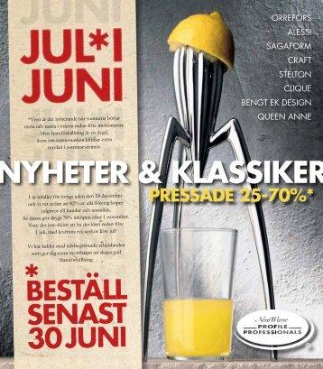NYHETER & KLASSIKER - Felestad