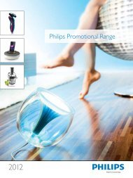 Philips Promotional Range - d-vice.info