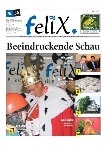 Beeindruckende Schau - Mediarbon - felix