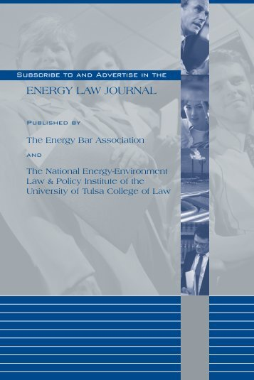 Brochure and Information (PDF) - Foundation of the Energy Law ...