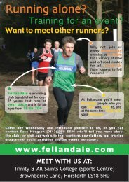 Running alone? Running alone? - Horsforth Fellandale