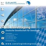Programm als PDF Download - Deutsche Gesellschaft für Senologie