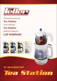 146.504 - FELLER TEA MAKER