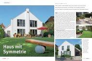 Haus mit Symmetrie - Baumeister Haus