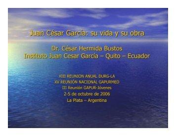 Juan César García: su vida y su obra - Femeba