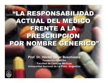 """""""LA RESPONSABILIDAD ACTUAL DEL MEDICO FRENTE ... - Femeba"""