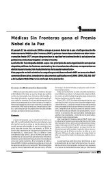 Médicos Sin Fronteras gana el Premio Nobel de la ... - Femeba Salud