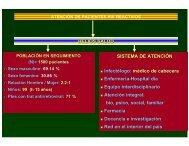 Atención de pacientes HIV Reactivos. DR ... - Femeba Salud
