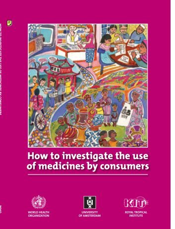 How to investigate the use of medicines by consumers