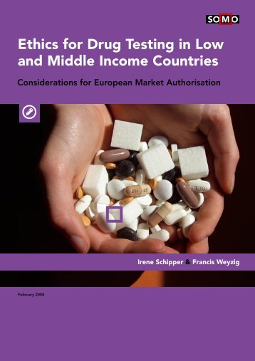 Ethics for Drug Testing in Low and Middle Income Countries