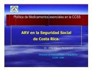 ARV en la Seguridad Social de Costa Rica. Política de ... - Femeba