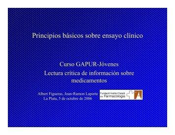 Lectura crítica de información sobre medicamentos - Femeba