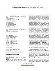 Capítulo 14 Gammaglobulinas y Vacunas - Femeba