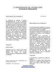 Capítulo 6 Patologías Prevalentes - Femeba