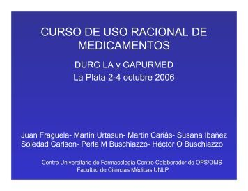 CURSO DE USO RACIONAL DE MEDICAMENTOS - Femeba