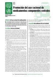 Promoción del uso racional de medicamentos - Femeba